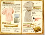 Banana Republic Catalog #35 Marseilles Jersey, Santa Fe Belt, Denim Skirt, Document Bag