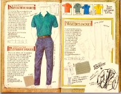 Banana Republic Catalog #35 No-Horse Shirt, Populist Pants, Italian Waiter's Jacket