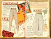 Banana Republic Catalog #35 Empirical Trousers, Kente Scarf, Culottes