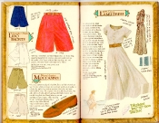 Banana Republic Catalog #35 Lido Shorts, Moccasins, Lamu Dress