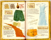 Banana Republic Catalog #35 Outback Shorts, Ventilated Scarf, Trekking Jumper, Essential Bag