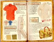 Banana Republic Catalog #35 Expedition Shirt, Jungle Fatigues, Traveler's shirt, Freelance Briefcase