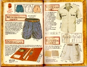 Banana Republic Catalog #35 Mediterranean Shorts, Passport Case, Ventilated Shirt, Expedition Shorts