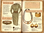 Banana Republic Catalog #35 Essential Dress, Contour Belt, Banana Republic Jewelry