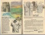 Banana Republic Summer 1985 Update #24 Expedition Shorts, Ventilated Shirt, Bush Vest
