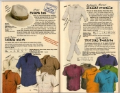 Banana Republic Summer 1985 Update #24 Banana Republic #23 Summer 1985 Panama Hat, Sahara Shirt, Italian Overalls, Tropical T-Shirt