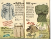 Banana Republic Summer 1985 Update #24 Ventilated Shirt, Trekking Shorts, French Commando Sweatshirt, French Army Bush Hat