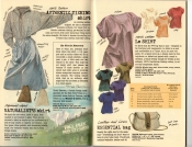 Banana Republic Summer 1985 Update #24 Ticking Shirt, Naturalist's Skirt, Le Shirt, Essential Bag