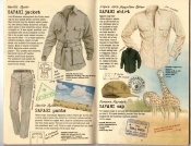 Banana Republic Summer 1985 Update #24 Safari Jacket, Safari Pants, Safari Shirt, Safari Cap