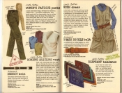Banana Republic Summer 1985 Update #24 Women's Fatigue Pants, Women's Writer's Vest, Bush Dress, Elephant Bandanas, Brass Buckle belt