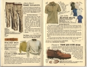 Banana Republic Summer 1985 Update #24 Khaki Trousers, Leather Braided Belt, Irish Linen sweater, No-Polo Shirt, Town and Bush Shoe