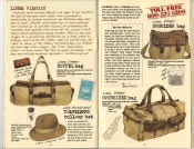 Banana Republic Summer 1985 Update #24 Banana Republic #23 Summer 1985 Linea Viaggio Bags, Traveler's Roll-Up Hat