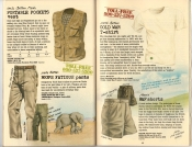 Banana Republic Summer 1985 Update #24 Portable Pockets Vest, Fatigue Pants, Cold War T-shirt, RAF Shorts