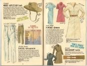 Banana Republic Summer 1985 Update #24, West African Hat, Drill Trousers, Bombay Dress, Regiment Belt