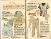 Banana Republic Summer 1985 Update #24, Pith Helmet, British Army Shorts, Ventilated T-Shirt, Pants To Come Home To