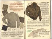 Banana Republic Catalog #30 Holiday 1986 Whole Grain Sweater, Flight Jacket, Aviator\'s Scarf