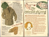 Banana Republic Catalog #30 Holiday 1986 Field Jacket, Pigskin Gloves