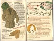 Banana Republic Catalog #30 Holiday 1986 Field Jacket, Pigskin Gloves
