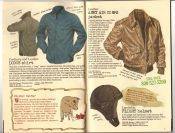 Banana Republic Catalog #30 Holiday 1986 Lodge Shirt, Army Air Corps Jacket, Lambskin Flight Helmet