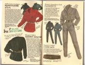 Banana Republic Catalog #30 Holiday 1986 Equestrienne Shirt, Kashmir Sweater, Flightsuit, Cinch Belt