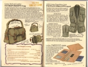 Banana Republic Catalog #30 Holiday 1986 Correspondent's Bag Photojournalist's Vest, Passport Case