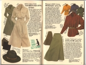 Banana Republic Catalog #30 Holiday 1986 Correspondent\'s Dress, Women\'s Fedora, Merikani Shirt, Six-Gore Skirt