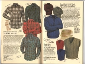 Banana Republic Catalog #30 Holiday 1986 Tartan Shirt, Roving Sweater, Roving Vest