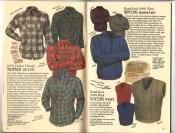 Banana Republic Catalog #30 Holiday 1986 Tartan Shirt, Roving Sweater, Roving Vest