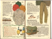 Banana Republic Catalog #30 Holiday 1986 Andes Shirt, Braided Belt, Rogue Pants, Low-Profile Bag
