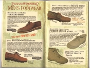 Banana Republic Catalog #30 Holiday 1986 Toeguard Shoes, Running Bottom SHoes, Safari Shoes, Foreign Legion Shoes, Foreign Legion Boots