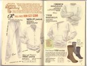 Banana Republic Catalog #30 Holiday 1986 Athletic Clothing