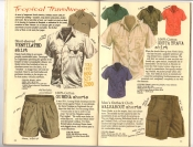 Banana Republic Catalog #30 Holiday 1986 Ventilated Shirt, Gurkha Shorts, Costa Brava Shirt, Walkabout Shorts