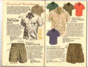 Banana Republic Catalog #30 Holiday 1986 Ventilated Shirt, Gurkha Shorts, Costa Brava Shirt, Walkabout Shorts