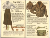Banana Republic Catalog #30 Holiday 1986 Pure-White Shirt, Walking Skirt, Vaqueria Belt, Amelia Earhart Jacket, Australian Schoolbag