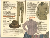 Banana Republic Catalog #30 Holiday 1986 Safari Pants, Pigskin Belt, Safari Hat, Safari Jacket, Buenos Aires Shirt
