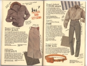 Banana Republic Catalog #30 Holiday 1986 Women's Denim Jacket, Denim Skirt, Women's Ticking Shirt, Women's Denim Jeans, Women's Money Belt