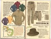 Banana Republic Catalog #30 Holiday 1986 Expedition Shirt, Kenya Convertibles, Expedition Hat