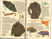 Banana Republic Catalog #30 Holiday 1986 Travel Umbrella, Foul Weather Jacket, Bush Jacket, Gift Boxes