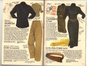 Banana Republic Catalog #30 Holiday 1986 Chanteuse Shirt, Chino Trousers, Traveler\'s Dress, Save-The-Tiger Belt