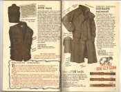 Banana Republic Catalog #30 Holiday 1986 Leather Bush Vest, Bushman's Raincoat, Jute Belt