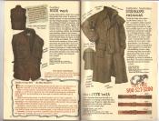 Banana Republic Catalog #30 Holiday 1986 Leather Bush Vest, Bushman\'s Raincoat, Jute Belt