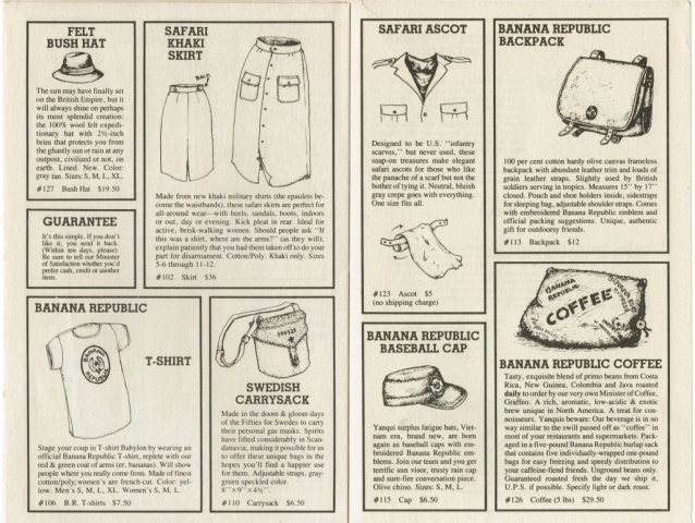 1979 Winter Catalogue #1